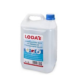 Eau déminéralisée Loda, 5 litres