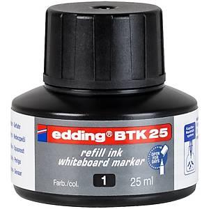 BOTTLE 25ML EDDING BTK25-1 INK BLACK