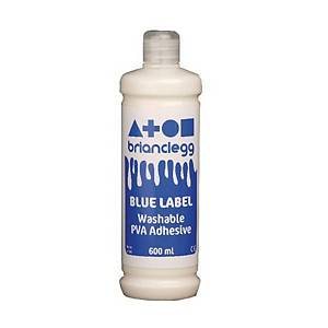 Blue Label PVA Glue 600ml