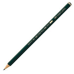 Bleistift AWF 119001 9000, Härtegrad: B, grün lackierter Schaft