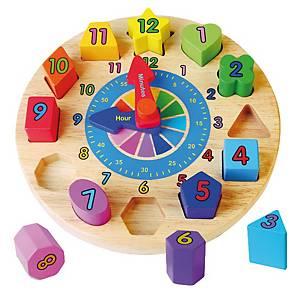 Reloj aprendizaje Andreu Toys - madera