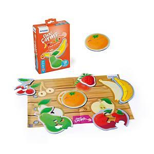 Caja de 18 piezas flexibles de fruta Miniland