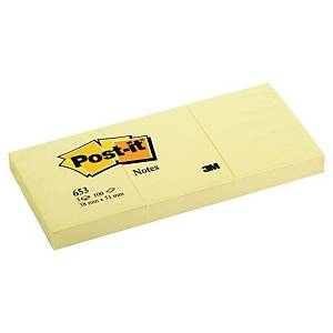 3M Post-It Notes 38X51Mm Canary Yellow - Pack Of 12