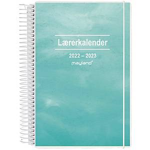 Lærerkalender Mayland 8130 10, uge, 2020/21, A5, med 2 illustrationer