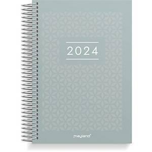 Kalender Mayland 2100 50, dag, 2020, 11,7 x 17,1 cm, PP soft touch, bjerg