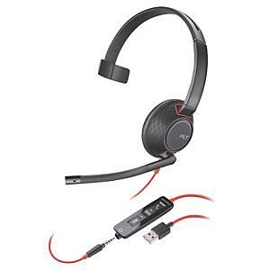 Cuffia a filo Poly Poly Blackwire C5210 USB-A monoaurale