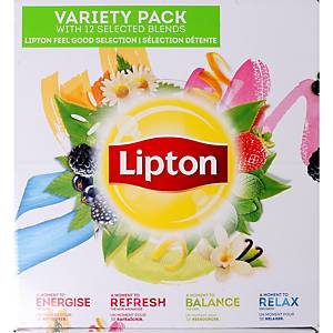 Lipton variety pack - 12 varieties - box of 180 bags