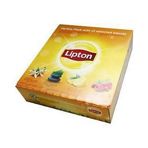 Lipton variety pack thee, 15 smaken, doos van 180 theezakjes