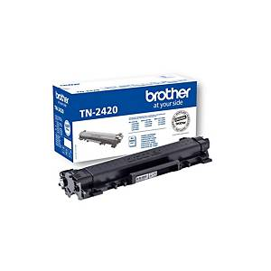 BROTHER TN2420 black high yield  3.000 pages toner cartridge