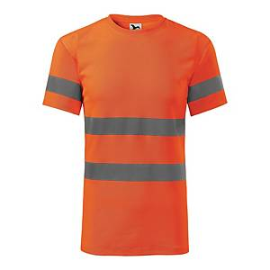 Koszulka RIMECK HV Protect 1V9, pomarańczowa, rozmiar M