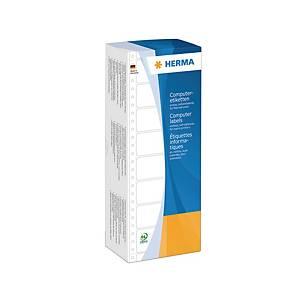 Étiquettes d ordinateur Herma 8211,88,9 x 35,7mm, 1 bande continue, 4000unités