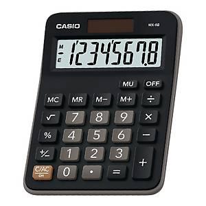 Kalkulator kieszonkowy CASIO MX-8B, czarny