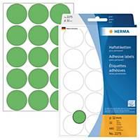 Markierungspunkte Herma 2275, Ø 32mm, grün, 480 Stück
