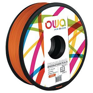Filament d impression 3D Owa - PLA-S - 1,75 mm - 750 g - orange