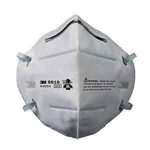 3M หน้ากากกรองฝุ่นละออง 9010 N95 กล่อง 50 ชิ้น