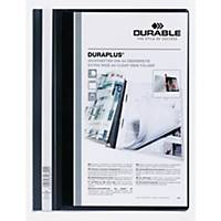Durable Duraplus 2579 personalised project file A4 PVC black