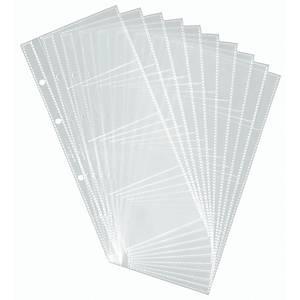 Visitenkartenhüllen Durable 2387, für Visifix 2383/2385, je 8 Karten, 10 Stück
