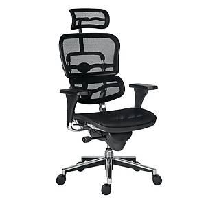 Antares Ergohuman főnöki fotel, fekete