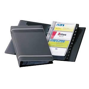 Visitenkartenringbuch Durable 2385, Visifix, für 280 Karten, anthrazit