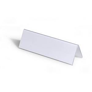 Durable Table Place Name Holder 210X61mm - Pack of 25