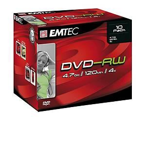 C10 DVD-RW 4,7GB 4X SLIM P10
