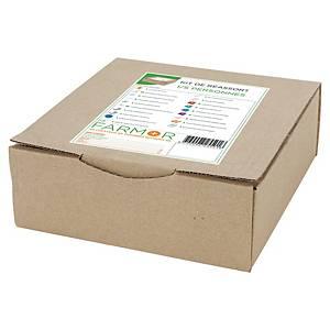 Kit complet pour armoire à pharmacie pour 1 à 5 personnes