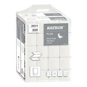 Ręczniki papierowe KATRIN 35311 PLUS Handy Pack, ZZ, 20 x 200 listków