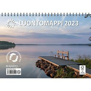 Ajasto Luontomappi seinäkalenteri 2021 250 x 352 mm