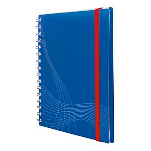 NOTIZIO 7033 SPIRAL N/BOOK A5 5X5 BLUE