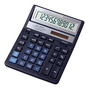 CITIZEN SDC-888XBL CALCULATOR 12DIG BLUE