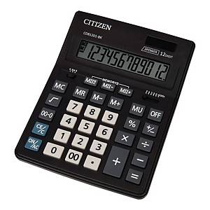 CITIZEN CDB1201 BUSINESS LINE CALC BLK