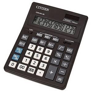 CITIZEN CDB1401 Business Line Tischrechner schwarz, 14-stellig