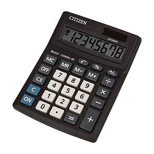 CITIZEN CMB801 Business Line Tischrechner schwarz, 8-stellig