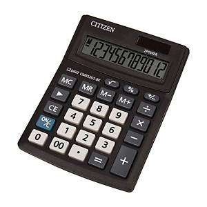 Stolní kalkulačka Citizen CMB1201 Business, 12-místný disp., černá