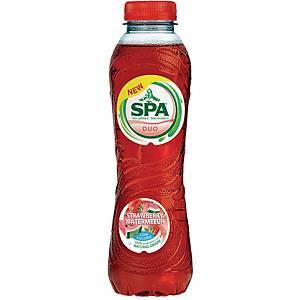 Eau Spa Duo fraise et pastèque, 50 cl, le paquet de 6 bouteilles