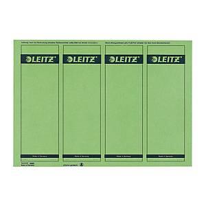 Rückenschilder Leitz 1685, kurz / breit, grün, 100 Stück