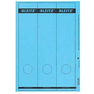 Rückenschilder Leitz 1687, lang / breit, blau, 75 Stück