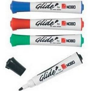 NOBO GLIDE DRY MARKER 4IN1 ASSORTED PACK