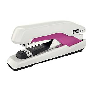 Rapid Supreme Omnipress SO30 tűzőgép, fehér/rózsaszín