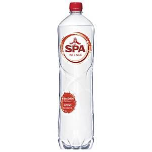 Eau pétillante Spa Intense, le paquet de 6 bouteilles 1,5 l