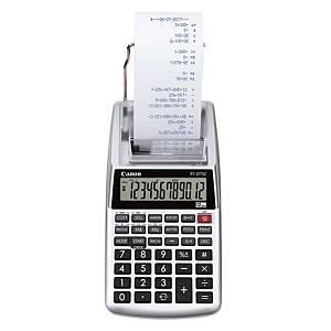 Calculatrice imprimante Canon P1-DTSC II - 12 chiffres - grise