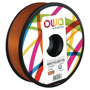 Filament d impression 3D Owa - PS - 1,75 mm - 750 g - bronze
