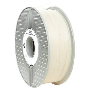 Filament d impression 3D Verbatim - PLA-S - 1,75 mm - 1,5 kg - transparent