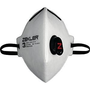 Zekler 1403v FFP3 hiukkassuojain, 1 kpl=15 suojainta