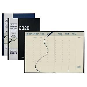 Brepols Optivision 247/248 XL bureau-agenda, assorti kleuren, Nederlandstalig