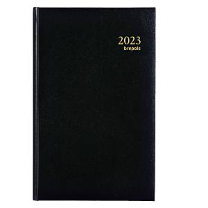 Brepols Saturnus Basic 015 desk diary with Lima cover black