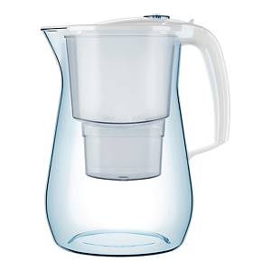 Dzbanek filtrujący wodę AQUAPHOR Onyx 4,2 l + 3 wkłady filtrujące, biały