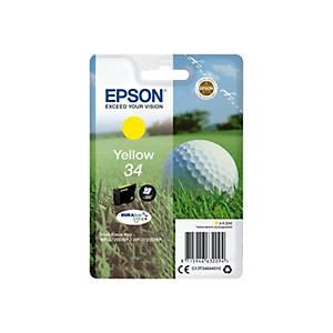 Epson 34 Ink Cartridge Yellow