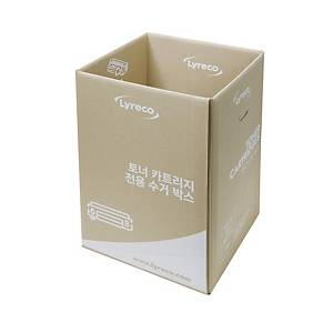 리레코 LYRECO 에코 토너 수거 박스 400 X 400 X 600mm