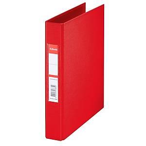 Ringbuch Esselte 47683, A5, 2-Ringe, Ringdurchmesser: 25mm, rot